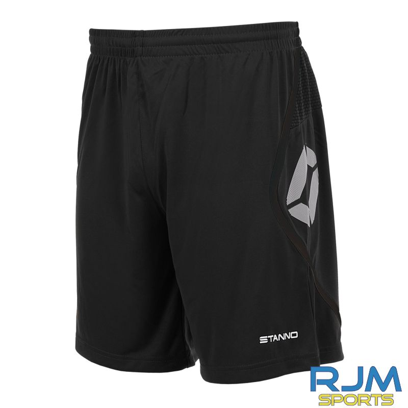 Steins Thistle Stanno Pisa Home Shorts Black