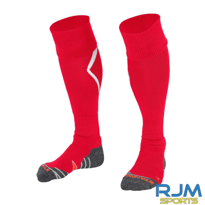 Steins Thistle Stanno Forza Away Socks Red White