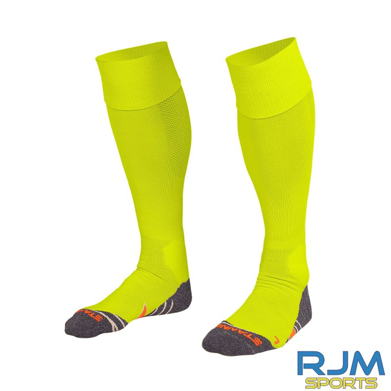 Steins Thistle Stanno Uni Home Goalkeeper Socks Neon Yellow