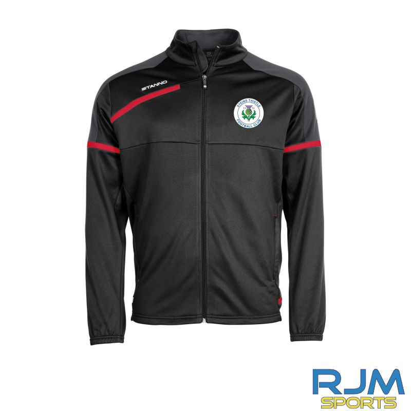 Steins Thistle Stanno Prestige Coaches Training TTS Jacket Black Red White