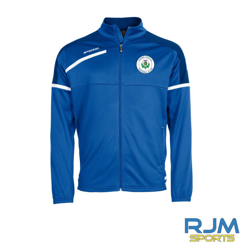 Steins Thistle Stanno Prestige Player Training TTS Jacket Royal White