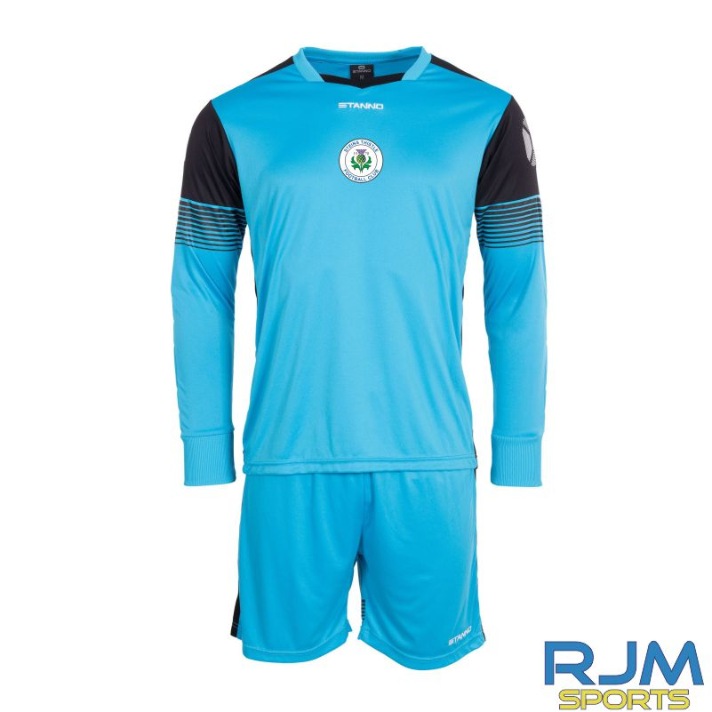 Steins Thistle Stanno Nitro Away Goalkeeper Set Blue Black