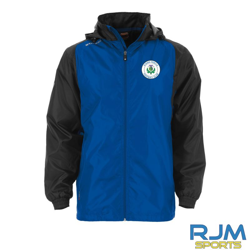 Steins Thistle Stanno Centro Windbreaker Royal Black