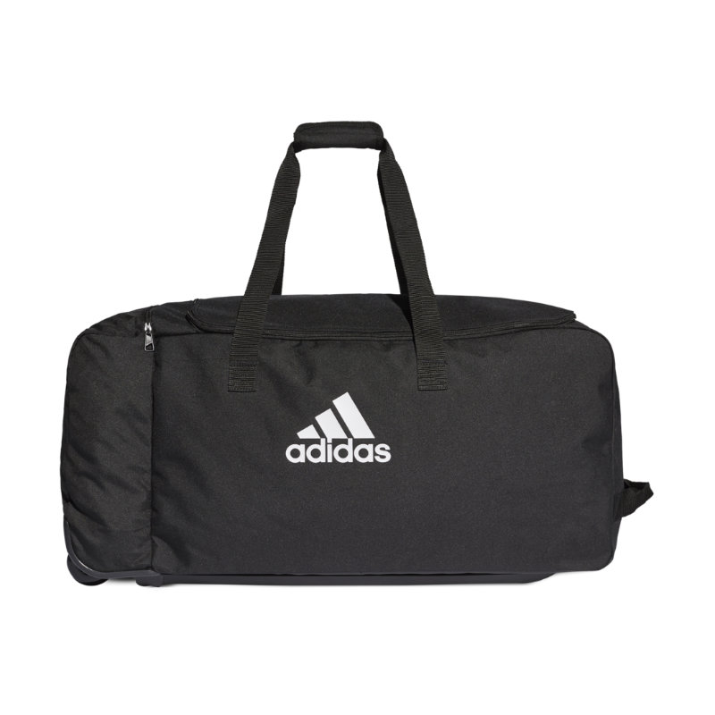 Adidas Tiro Wheeled Dufflebag Black/White