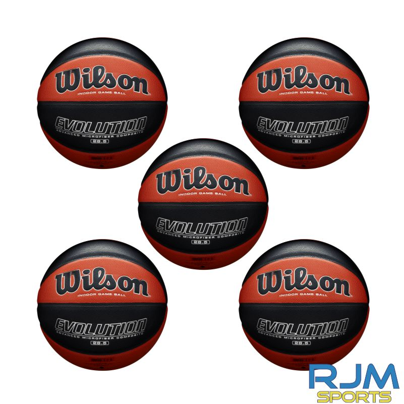 Basketball England Wilson Evolution 5 Ball Deal