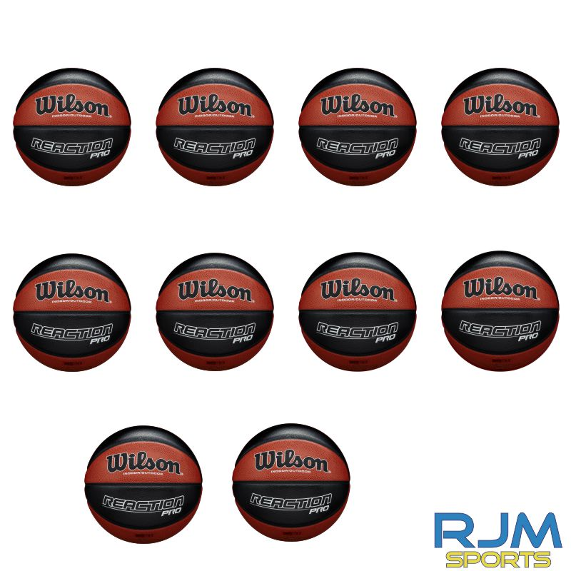 Basketball England Wilson Reaction Pro 10 Ball Deal