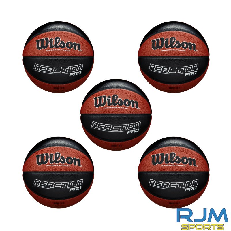Basketball England Wilson Reaction Pro 5 Ball Deal