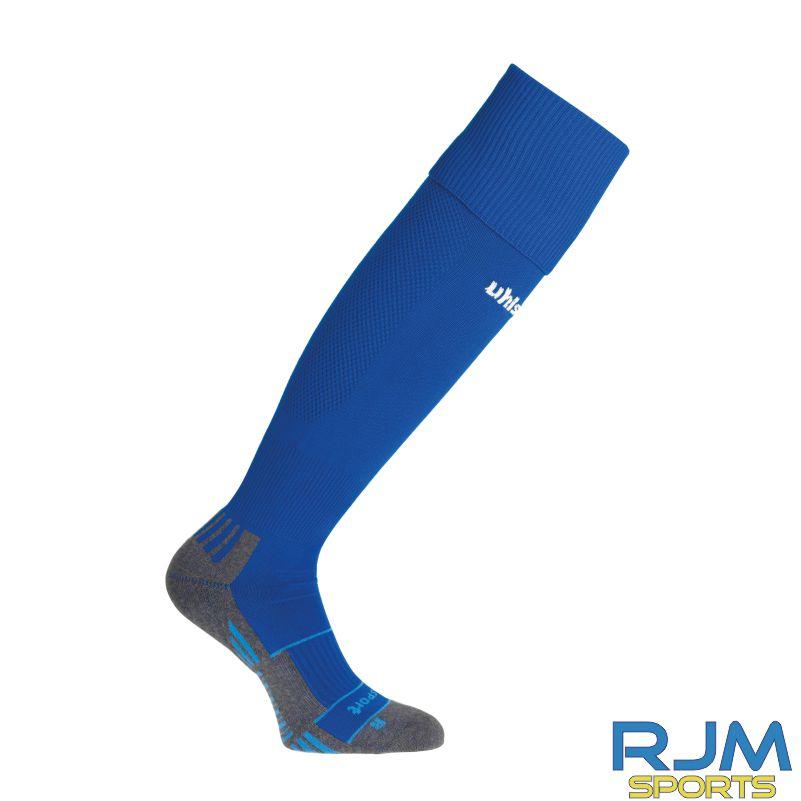 Cumbernauld Colts Training Uhlsport Team Pro Player Socks Azure Blue White