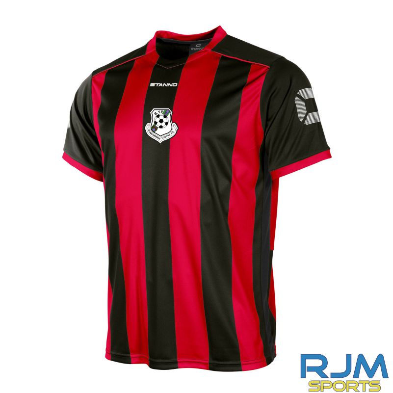 Bonnybridge Youths FC Home Stanno Brighton Shirt Short Sleeve Red Black
