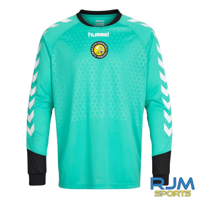 Kilsyth Community Hummel Away Essential GK LS Jersey Aqua Green