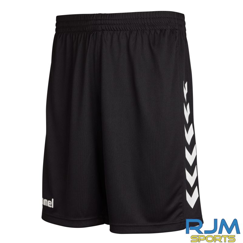 Kilsyth Community HummelHome Core Poly Shorts Black/White