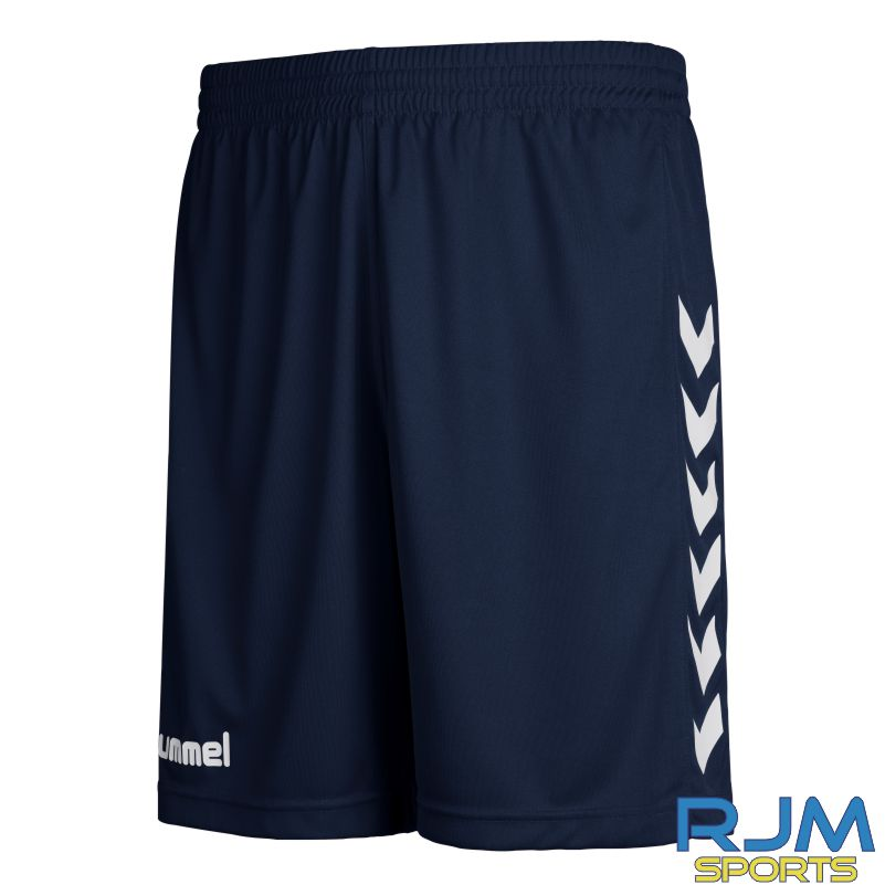 Kilsyth Community Hummel Away Core Poly Shorts Marine