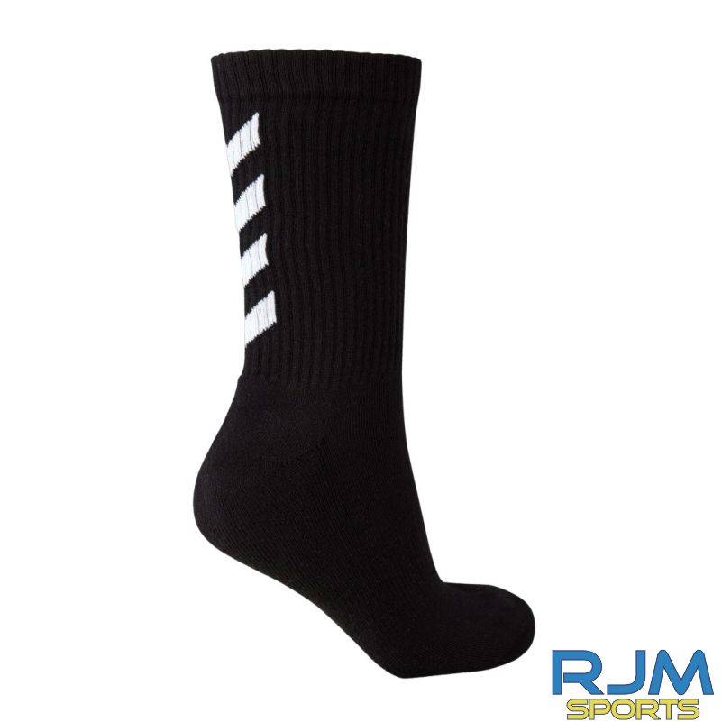 Kilsyth Community Hummel Fundamental 3 Pack Socks Black