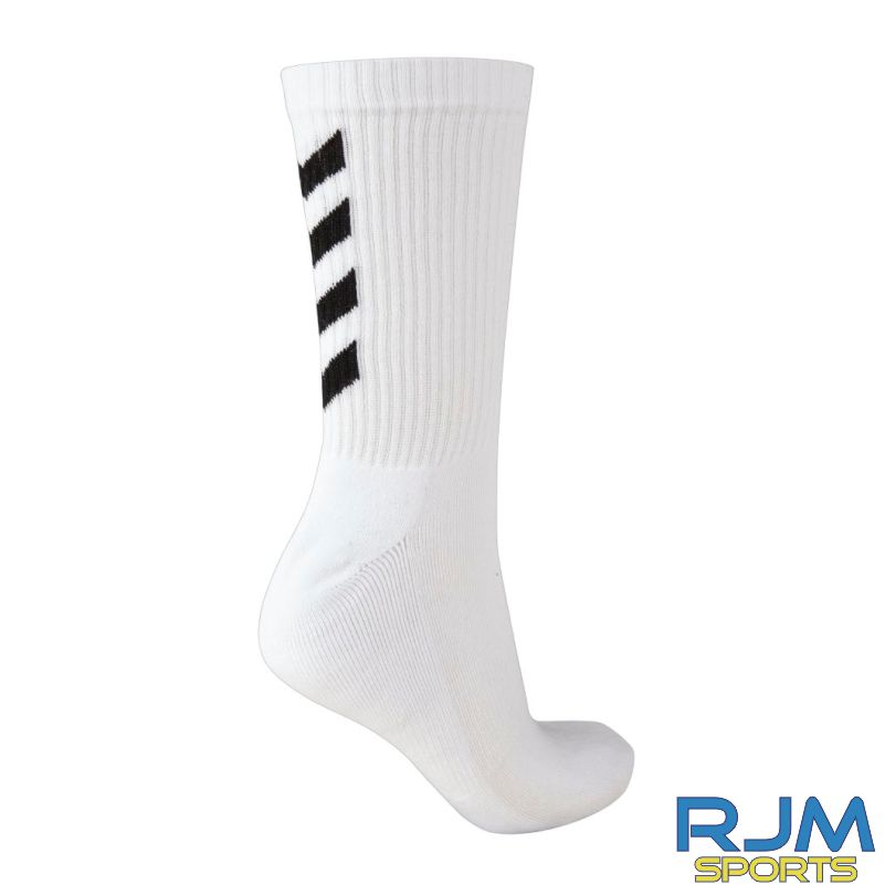 Kilsyth Community Hummel Fundamental 3 Pack Socks White