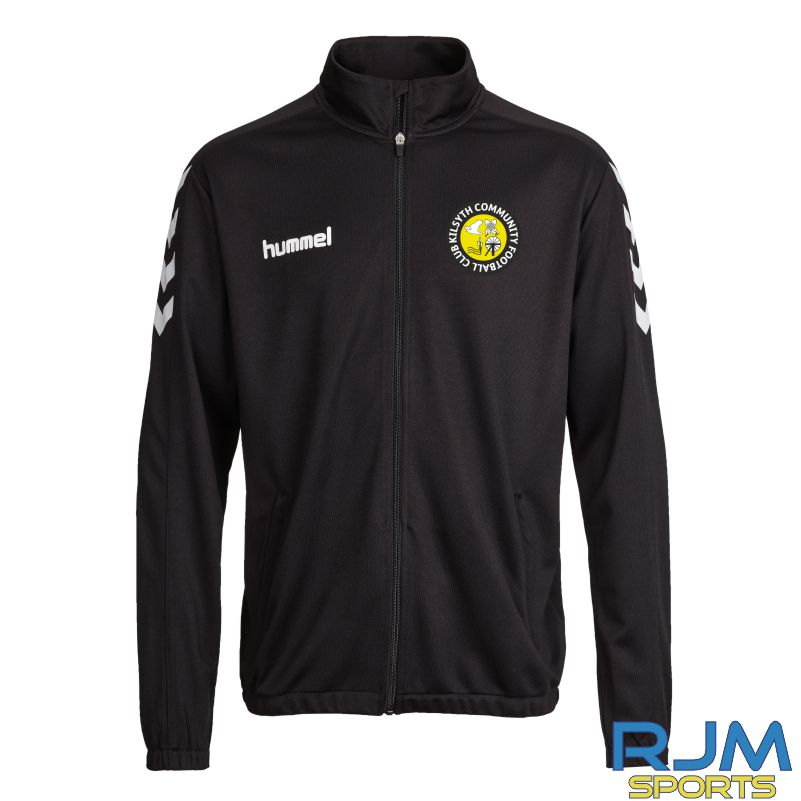 Kilsyth Community Hummel Core Poly Jacket Black
