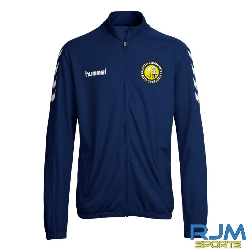 Kilsyth Community Hummel Core Poly Jacket Marine