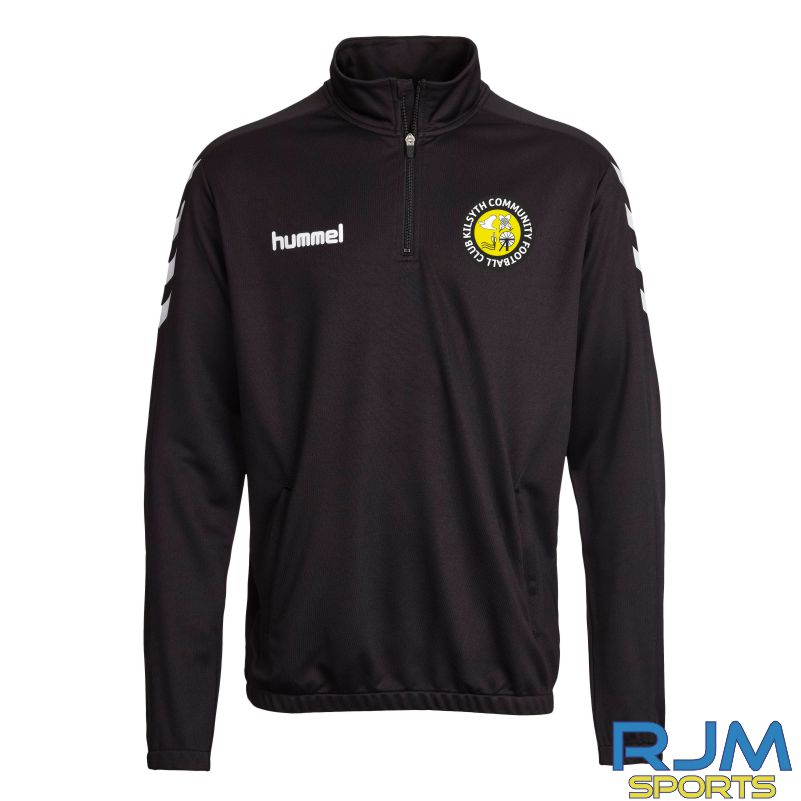 Kilsyth Community Hummel Core 1/4 Zip Black/White