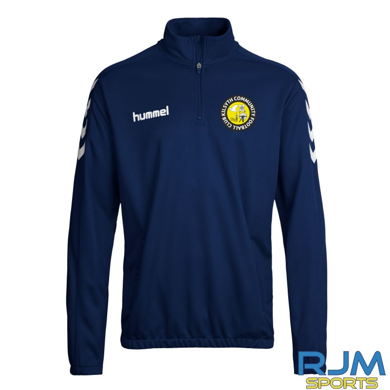 Kilsyth Community Hummel Core 1/4 Zip Marine/White