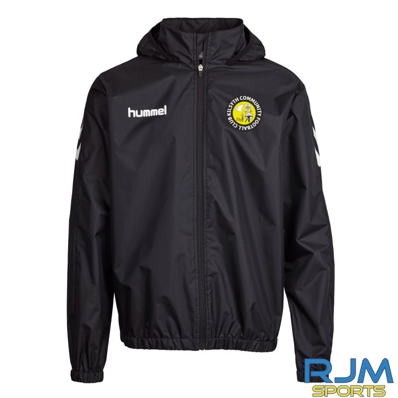 Kilsyth Community Hummel Core Spray Rain Jacket Black