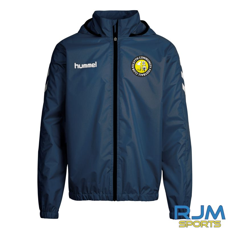 Kilsyth Community Hummel Core Spray Rain Jacket Marine