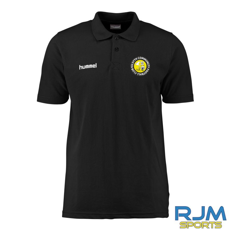 Kilsyth Community Hummel Core Hybrid Polo Black