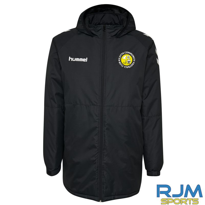 Kilsyth Community Hummel Core Hybrid Bench Jacket Black