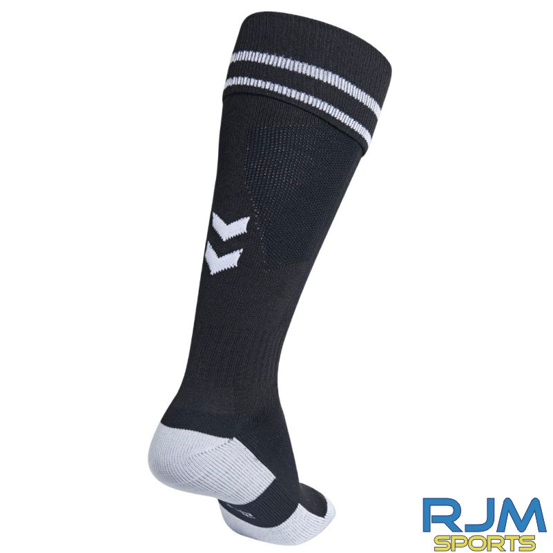 Kilsyth Community HummelHome Element Football Socks Black/White