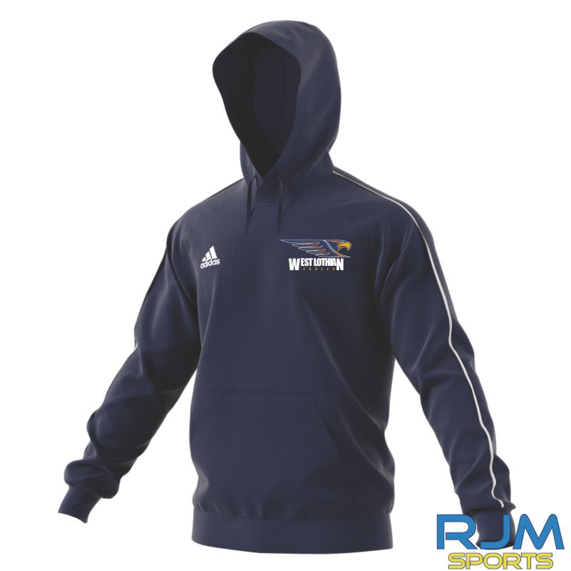 West Lothian Eagles Adidas Core 18 Hoody