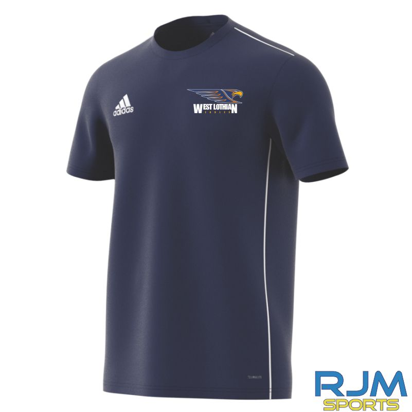 West Lothian Eagles Adidas Core 18 Training Jersey