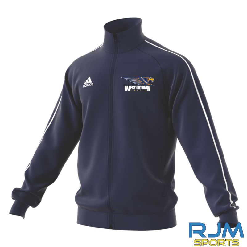 West Lothian Eagles Adidas Core 18 Polyester Jacket