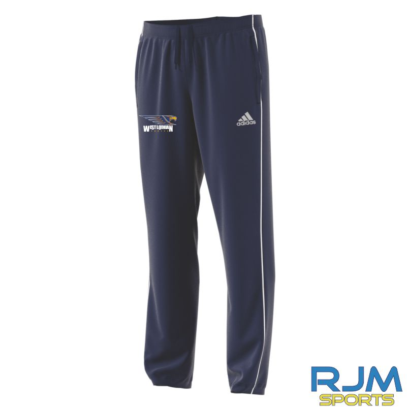 West Lothian Eagles Adidas Core 18 Polyester Pants