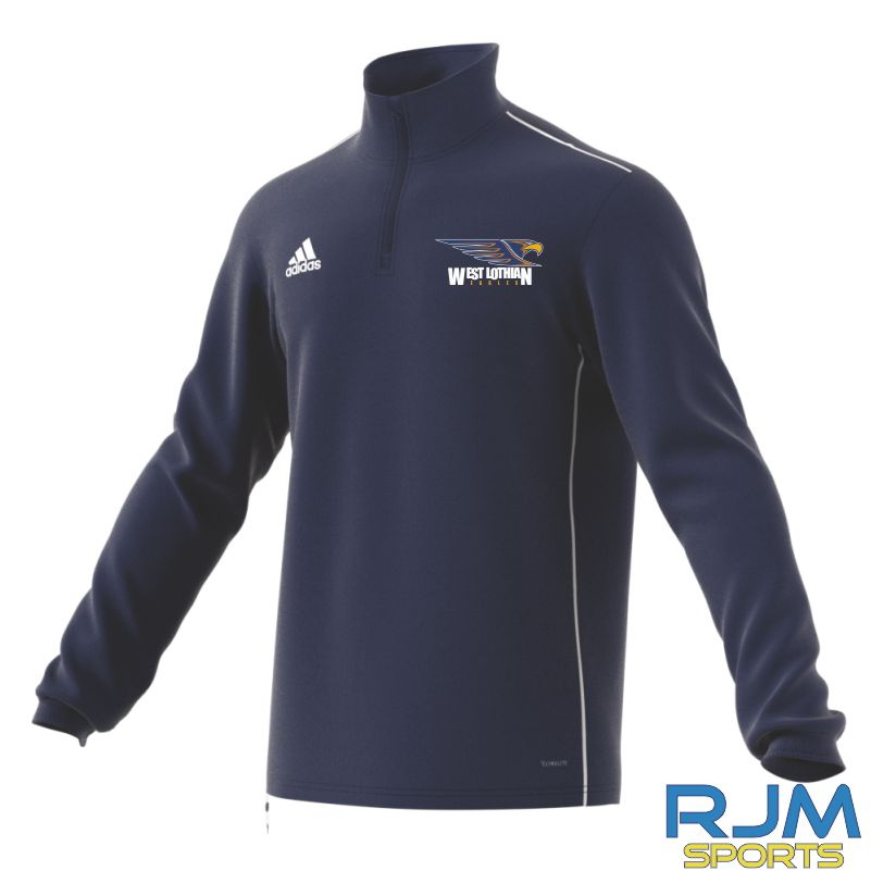 West Lothian Eagles Adidas Core 18 Training Top