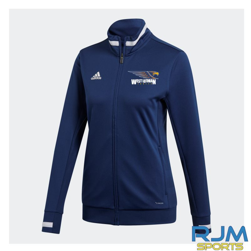 West Lothian Eagles Adidas Team 19 Womens Track Jacket