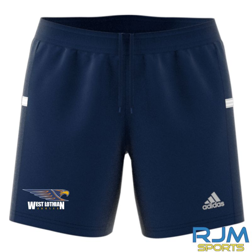 West Lothian Eagles Adidas Team 19 Womens Knit Shorts