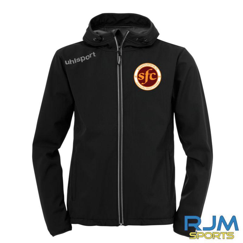 Stenhousemuir FC Uhlsport Essential Softshell Jacket Black