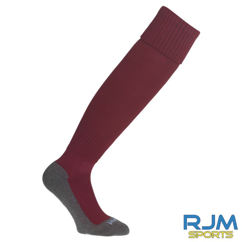Stenhousemuir FC Uhlsport Home Team Pro Essential Socks Burgundy