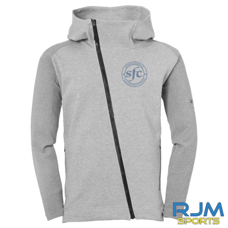 Stenhousemuir FC Uhlsport Essential Pro Jacket Dark Grey Melange