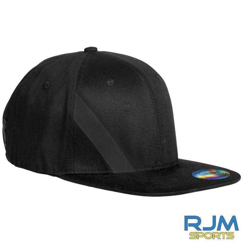 Stenhousemuir FC Uhlsport Essential Pro Flat Cap Black