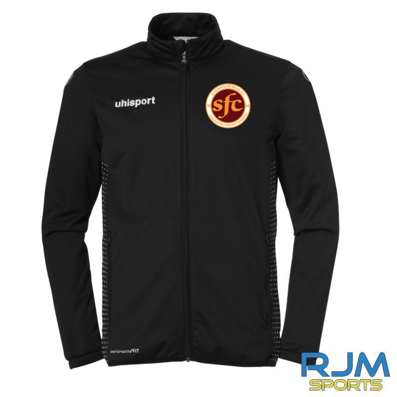 Stenhousemuir FC Uhlsport Score Classic Jacket Black/White