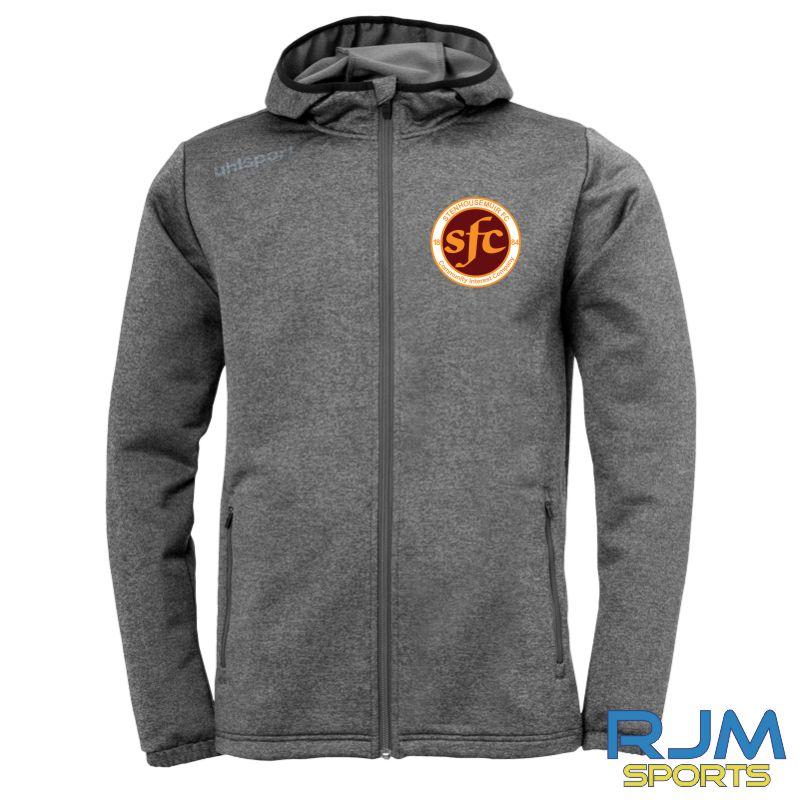 Stenhousemuir FC Uhlsport Essential Fleece Jacket Grey Melange