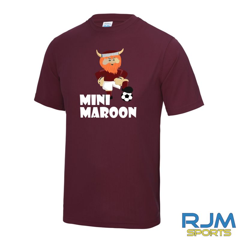 WITC Mini Maroons T-Shirt Burgundy