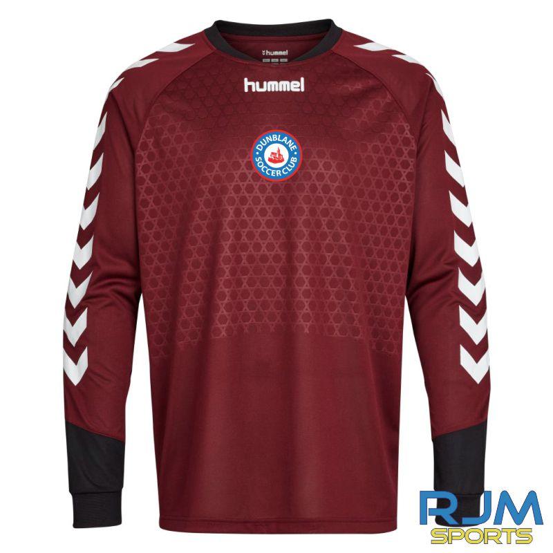 Dunblane Soccer Club Hummel Essential GK LS Shirt Zinfandel