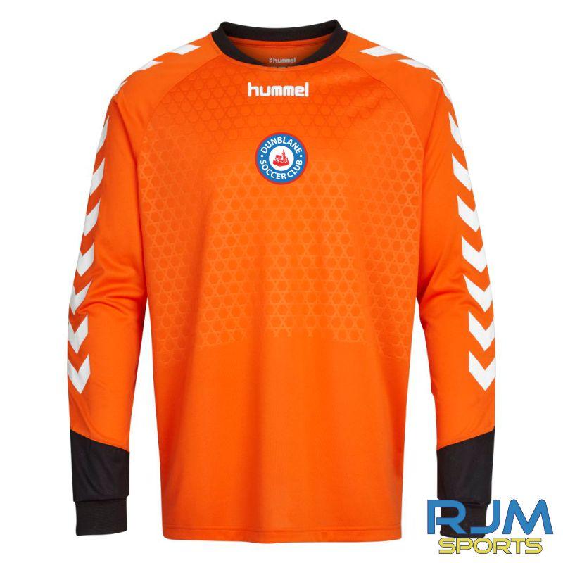 Dunblane Soccer Club Hummel Essential GK LS Shirt Flame
