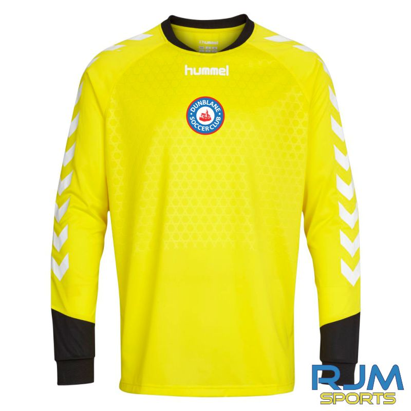 Dunblane Soccer Club Hummel Essential GK LS Shirt Blazing Yellow