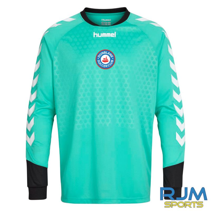 Dunblane Soccer Club Hummel Essential GK LS Shirt Aqua Green