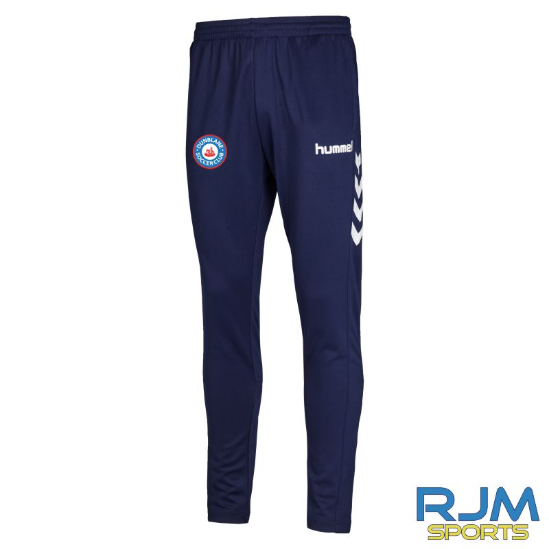 Dunblane Soccer Club Hummel Core Football Pant Marine White