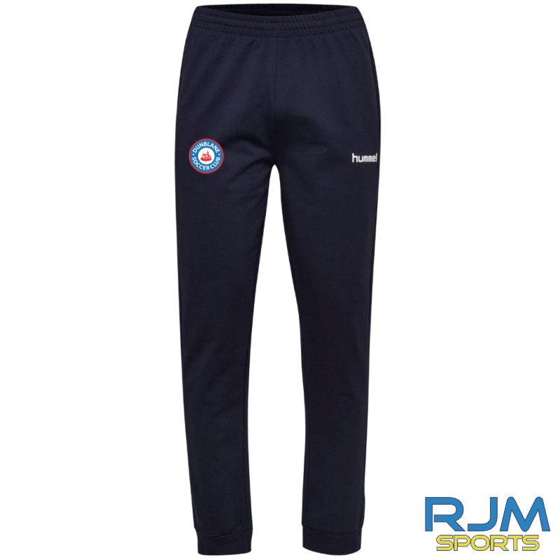 Dunblane Soccer Club Hummel Go Cotton Pant Marine