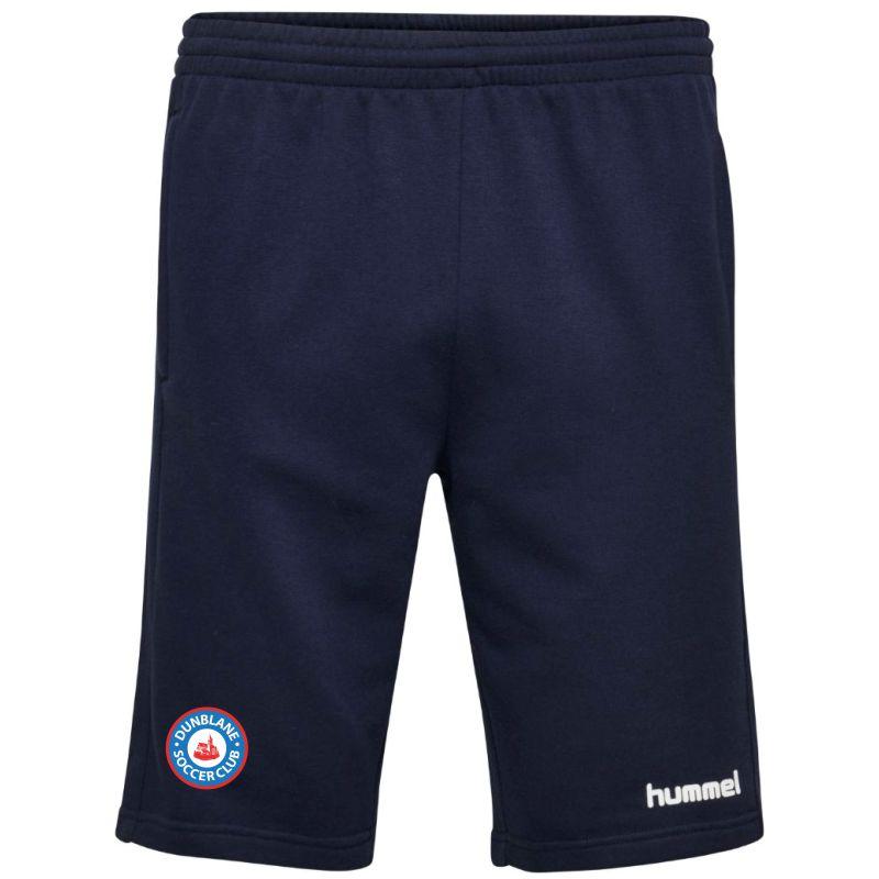 Dunblane Soccer Club Hummel Go Cotton Bermuda Shorts Marine