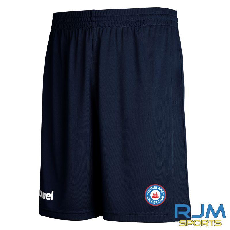 Dunblane Soccer Club Hummel Core Hybrid Shorts Marine
