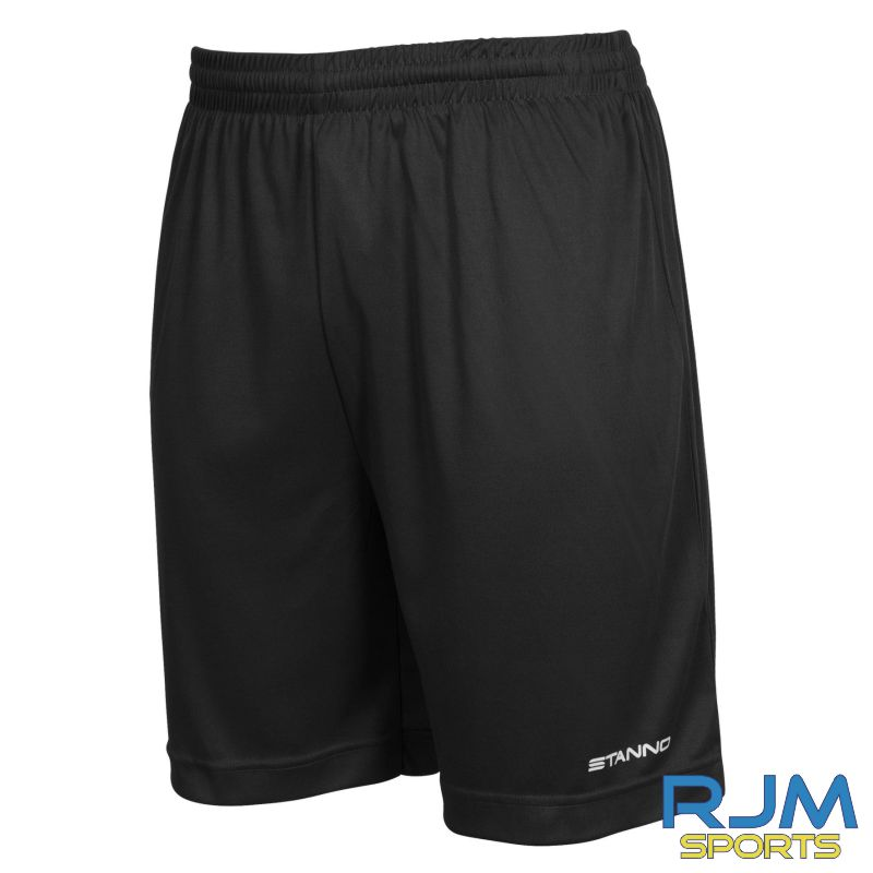 Dunipace FC Stanno Field Home Shorts Black